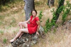 brunette Στοκ Φωτογραφία