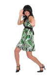 Brunette alegre Fotografia de Stock Royalty Free