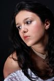 Brunette arabo sexy Immagine Stock