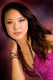 Brunette asiatico sexy fotografie stock libere da diritti