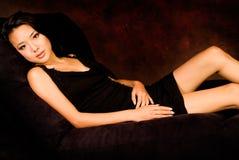 Brunette asiatico sexy immagine stock libera da diritti
