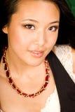 Brunette asiatico sexy fotografia stock libera da diritti