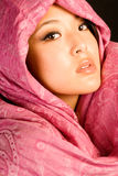 Brunette asiatique sexy images stock