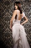 Brunette attirant photographie stock