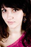 Brunette attractive woman Stock Image