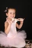 brunette ballerina Στοκ φωτογραφίες με δικαίωμα ελεύθερης χρήσης