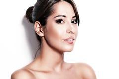 Brunette beauty Stock Images