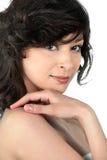 Brunette beauty Stock Photos