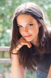 Brunette beauty. Royalty Free Stock Photography
