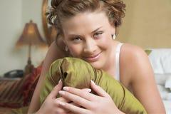Brunette beauty Stock Image