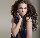 Brunette beauty woman Royalty Free Stock Photography