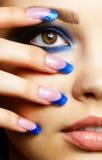 Brunette bonito Imagem de Stock Royalty Free