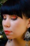 Brunette bonito Fotografía de archivo