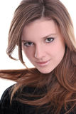 Brunette bonito Fotos de Stock Royalty Free