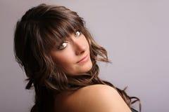 Brunette bonito Imagens de Stock Royalty Free