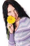 Brunette bonito novo Fotografia de Stock Royalty Free