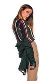 Brunette in business attire Stock Photo