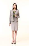 Brunette business executive woman Stock Photo