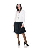 Brunette business woman Royalty Free Stock Photography