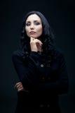 Brunette confiant Photos libres de droits