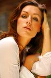 Brunette de Beautifull Image stock