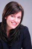 Brunette de sourire Images libres de droits