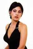 Brunette dei capelli di scarsità Fotografie Stock Libere da Diritti