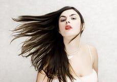 brunette* del *The Foto de archivo libre de regalías