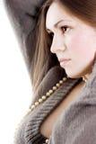Brunette encantador Foto de archivo libre de regalías