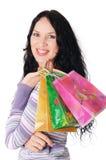 Brunette encantador novo Imagem de Stock Royalty Free