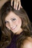Brunette Female Model Stock Images