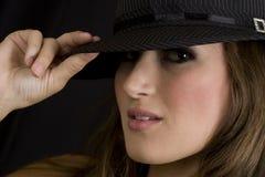 Brunette Female Model Stock Photography