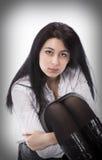 Brunette girl Royalty Free Stock Photo