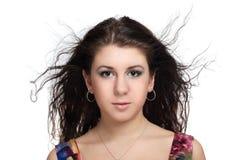 Brunette girl Royalty Free Stock Image