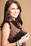 Brunette girl Royalty Free Stock Photos