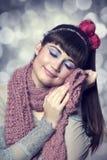Brunette girl  Royalty Free Stock Images