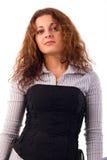 Brunette Girl Portrait. Royalty Free Stock Photos