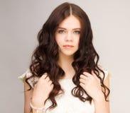 Brunette girl Royalty Free Stock Photography