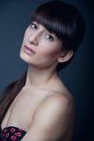 Brunette girl Stock Photo