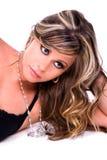 Brunette glamoroso. Fotografia de Stock Royalty Free