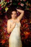 Brunette hermoso Fotos de archivo