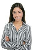 Brunette from India bussinesswoman student Stock Photo