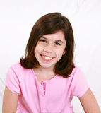 Brunette little girl Royalty Free Stock Photos