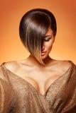 Brunette magnifique photo stock