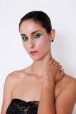 Brunette model. Stock Images