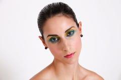 Brunette model. Stock Photography