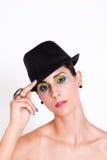 Brunette model. Royalty Free Stock Photos