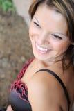 Brunette model Royalty Free Stock Photo