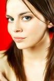 Brunette model portrait Stock Images