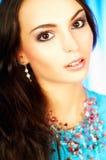Brunette model portrait Royalty Free Stock Photos